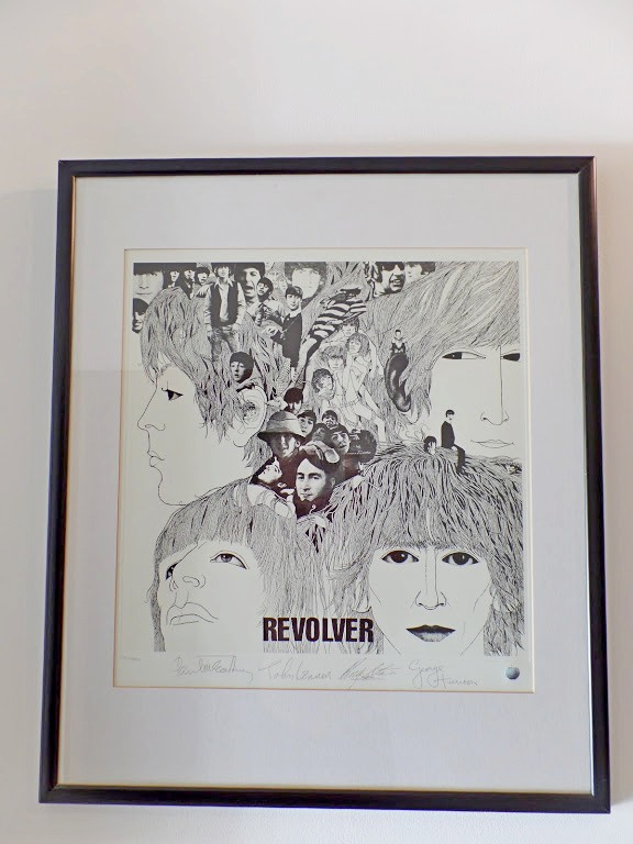 The Beatles Revolver Limited Edition Lithographic Print